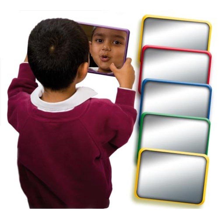 Set van 6 onbreekbare spiegels