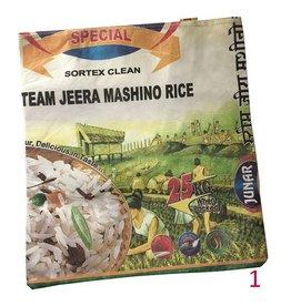 Mandisakura Gerecyclede Textiel Rijstzakken