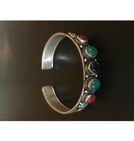 Mandisakura Armband - met meerkleurige stenen