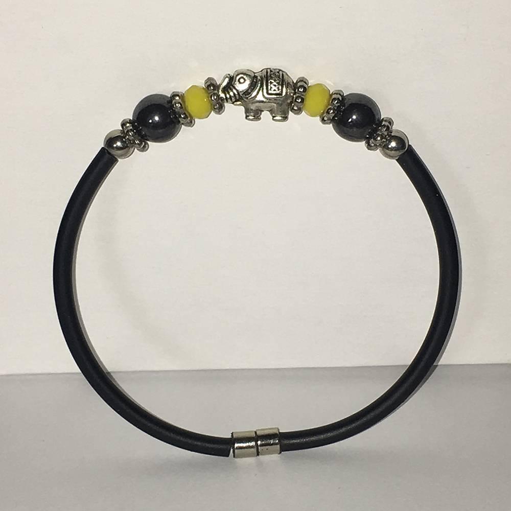 Mandisakura Armband met magneetsluiting - Olifant