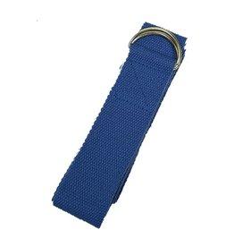 Yoga & Yogini Yoga riem D-ring - blauw