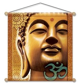 Mandisakura Meditatie banner Gouden Boeddha