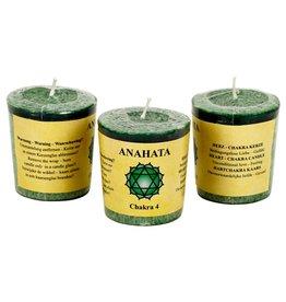 Yoga & Yogini Chakra 4 geurkaarsje Anahata