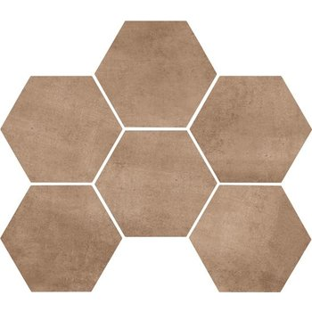 Marazzi Clays 18,2X21 Mm5q Earth Hexagon a 0,46 m²