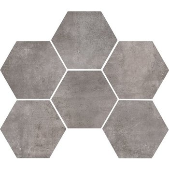 Marazzi Clays 18,2X21 Mm5p Lava Hexagon a 0,46 m²