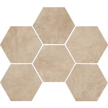 Marazzi Clays 18,2X21 Mm5r Sand Hexagon a 0,46 m²