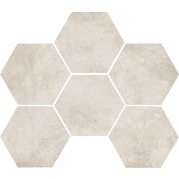 Marazzi Clays 18,2X21 Mm5n Cotton Hexagon