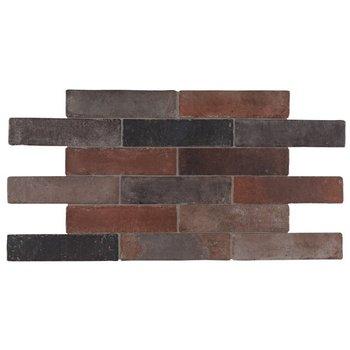 Marazzi Terramix 7X28 Mmkw Nero Brick a 0,98 m²