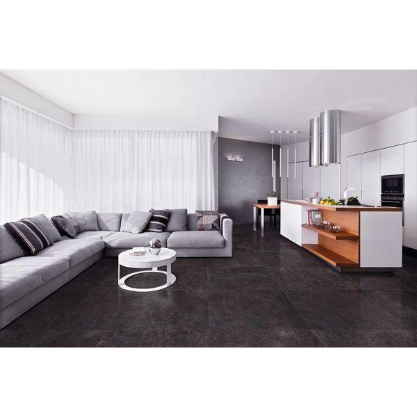 La Fabbrica Blue Evolution 092035 Black getrommeld 20x20, afname per doos van 0,96 m²
