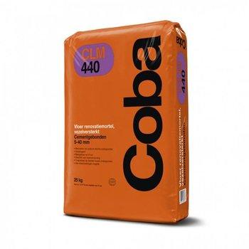 Coba CLM440 vloer egalisatiemortel 5-40 mm vezelversterkt 25 kg grijs