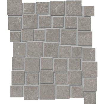 Douglas Jones Fusion 28,7X33 Bright Grey naturale mozaïek Pent