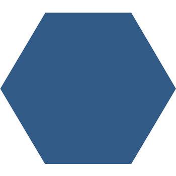 Winckelmans Hexagon 10X10 cm bleu nuit a 0,42 m²