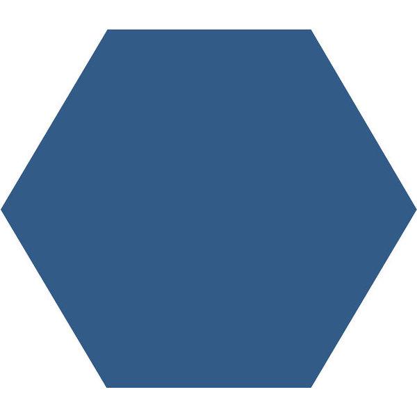 Winckelmans Hexagon 10X10 cm bleu nuit, afname per doos van 0,42 m²