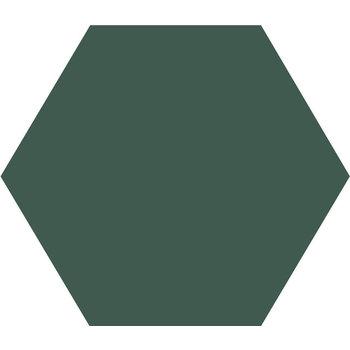 Winckelmans Hexagon 10X10 cm vert fonce a 0,42 m²