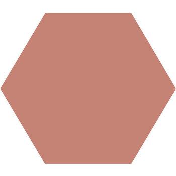 Winckelmans Hexagon 10X10 cm vieux rose a 0,42 m²