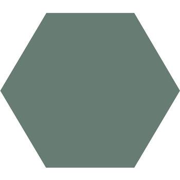 Winckelmans Hexagon 10X10 cm vert a 0,42 m²