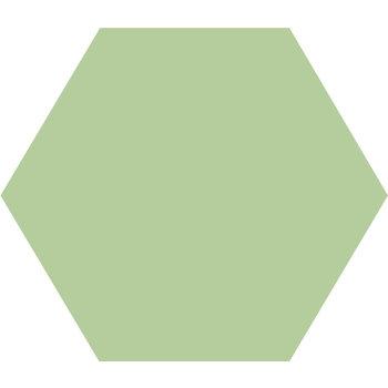Winckelmans Hexagon 10 cm Pistache (PIS) a 0,42 m²