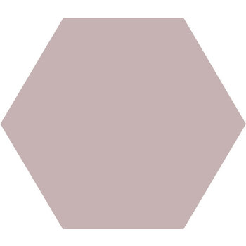 Winckelmans Hexagon 10X10 cm parme a 0,42 m²