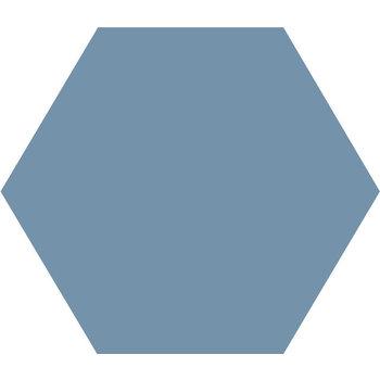 Winckelmans Hexagon 10X10 cm bleu a 0,42 m²
