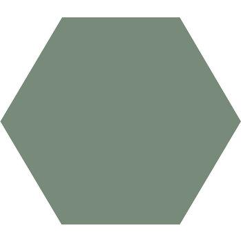 Winckelmans Hexagon 10 cm Vert Pale (VEP) a 0,42 m²