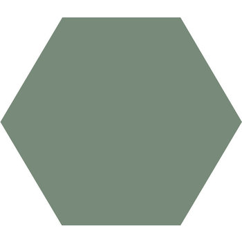 Winckelmans Hexagon 10X10 cm vert pale a 0,42 m²