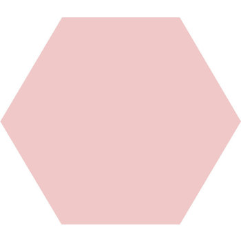 Winckelmans Hexagon 10X10 cm rose a 0,42 m²