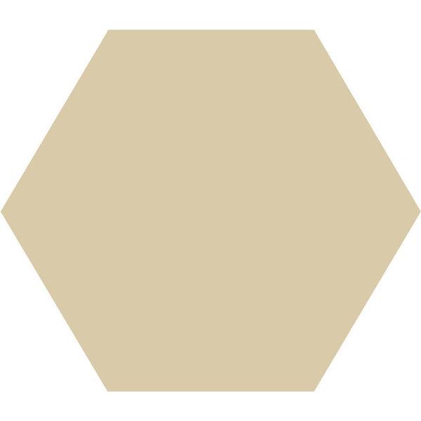 Winckelmans Hexagon 10X10 cm ivoire, afname per doos van 0,42 m²