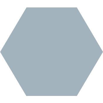 Winckelmans Hexagon 10X10 cm bleu pale a 0,42 m²