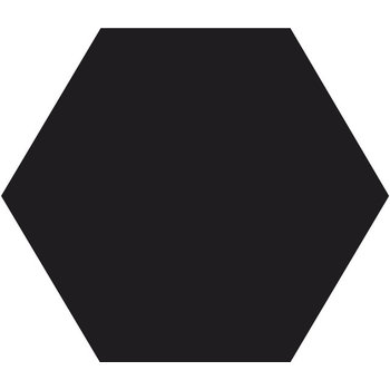 Winckelmans Hexagon 10X10 cm noir