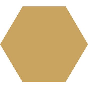Winckelmans Hexagon 10X10 cm jaune a 0,42 m²