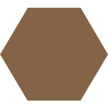 Winckelmans Hexagon 10X10 cm havane a 0,42 m²
