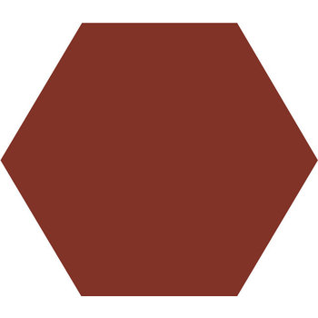 Winckelmans Hexagon 10X10 cm rouge a 0,42 m²
