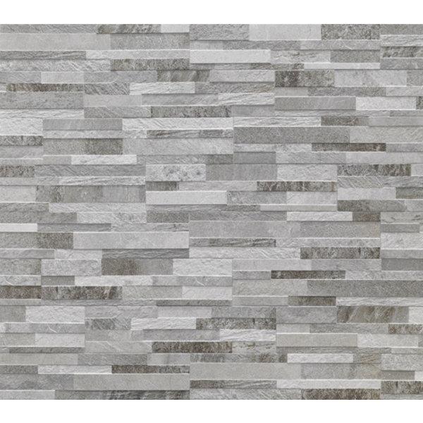 Rondine 150X610 J86619 Cubics Grey, afname per doos van 1.01 m²