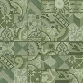 Marazzi D_Segni 10x10 Blend decor mix M61K Verde a 0,68 m²