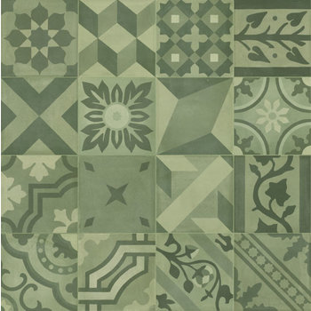 Marazzi D_Segni 20x20 Blend decor mix M608 Verde a 0,96 m²