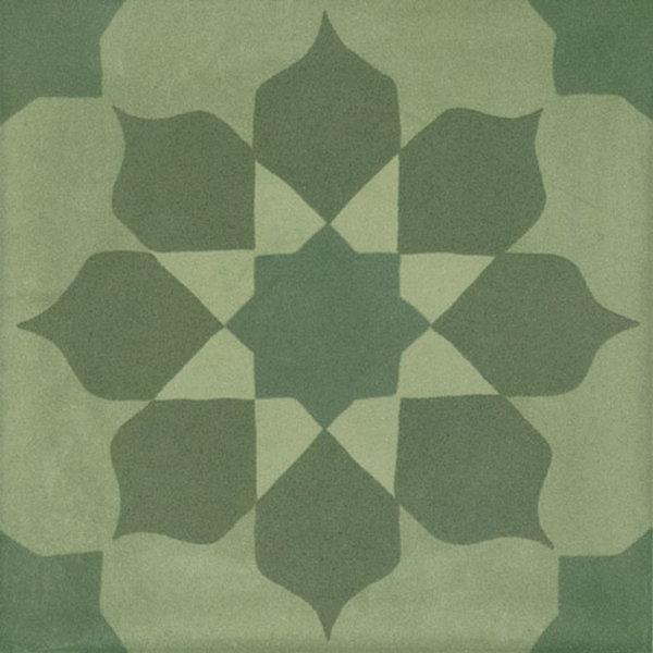 Marazzi D_Segni 20x20 Blend decor mix M608 Verde, afname per doos van 0,96 m²