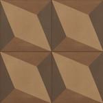 Marazzi D_Segni 20x20 Blend tappeto 6 M610 Terra, afname per doos van 0,96 m²
