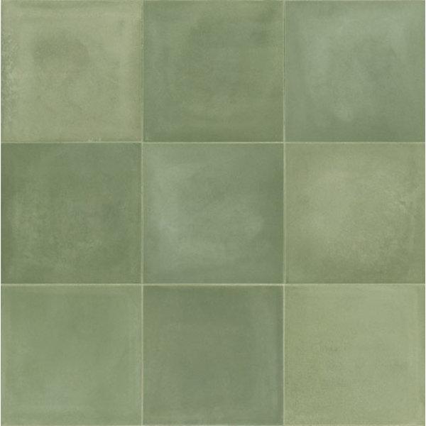 Marazzi D_Segni 20x20 Blend M5ZS Verde, afname per doos van 0,96 m²