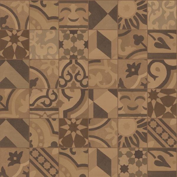 Marazzi D_Segni 10x10 Blend decor mix M61L Terra, afname per doos van 0,68 m²