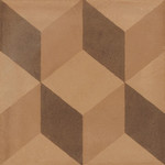 Marazzi D_Segni 20x20 Blend decor mix M609 Terra, afname per doos van 0,96 m²