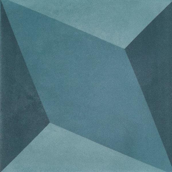 Marazzi D_Segni 20x20 Blend decor mix M607 Azurro, afname per doos van 0,96 m²