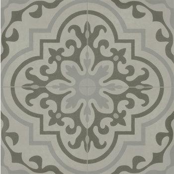 Marazzi D_Segni 20x20 Blend tappeto 8 M60U Grigio a 0,96 m²