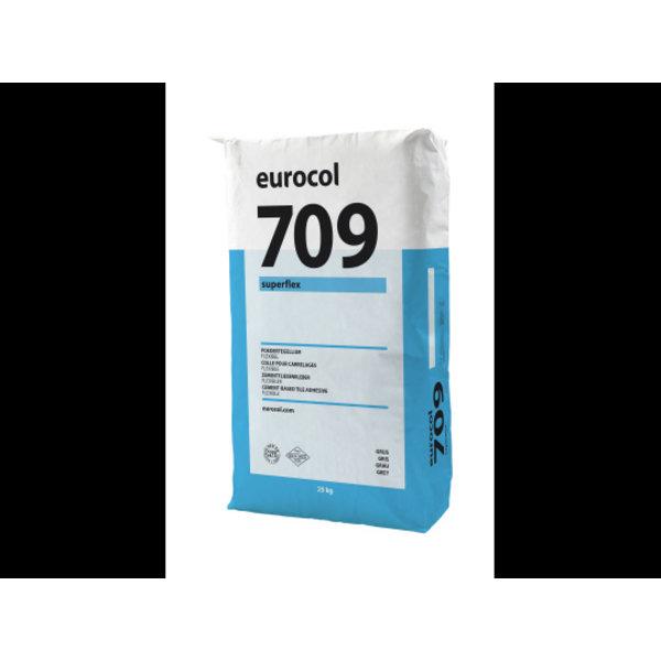 Eurocol 709 Superflex Grijs a 25 kg