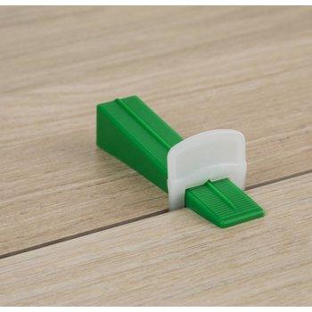 Protiler levelling clips, 3-12 mm hoog, zak a 250 stuks