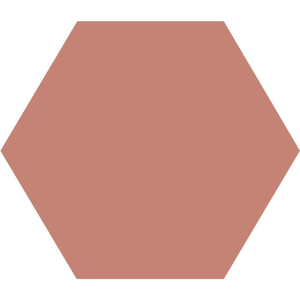 Winckelmans Hexagon 15x15 cm vieux rose, afname per doos van 0,5 m²