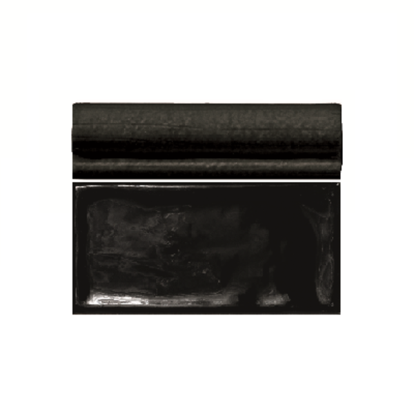Vision Alf Moldura negro glans 4x15 per stuk