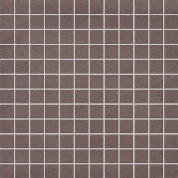Mosa Xxs 264 Mzvv Grijsbruin 30X30 Mozaiek a 1 m²