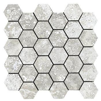 La Fabbrica Imperial 155321 Alabastrino mozaiek 28x29, afname per 6 stuks
