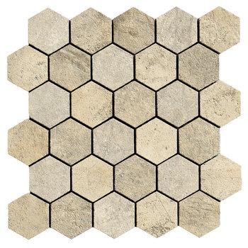 La Fabbrica Jungle Stone 154314 Desert mozaiek 28x29 per stuk