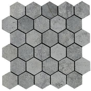 La Fabbrica Jungle Stone 154311 Silver mozaiek 28x29 per stuk